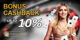 bonus cashback casino terbesar